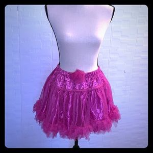 Pink Skirt/Tutu/Petticoat
